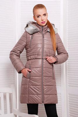 Зимняя женская куртка на синтепоне