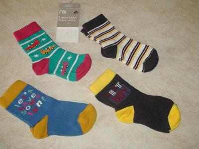 Новые носочки Mothercare 18-24 мес., для мальчика