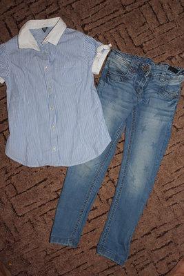 Классная рубашка Zara 5-6лет.