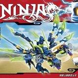 Конструктор Ninjago , дракон, фигурки, транспорт, 288 дет., в к SY548