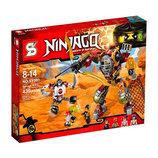 Конструктор Ninjago , робот, транспорт, фигурки, 465 дет, в кор SY591