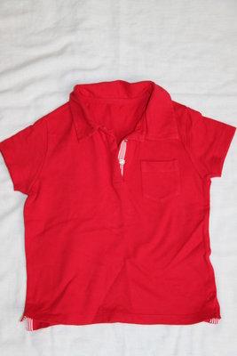 Красная футболочка девочке 5 лет