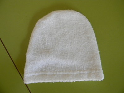 мочалка-рукавичка хэбэшная новая