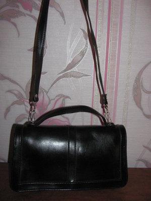 Черная сумка портфель