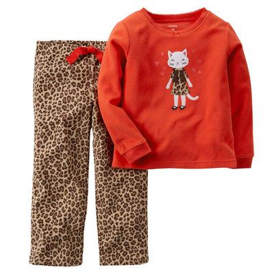 пижама Carters флис 2Т лео