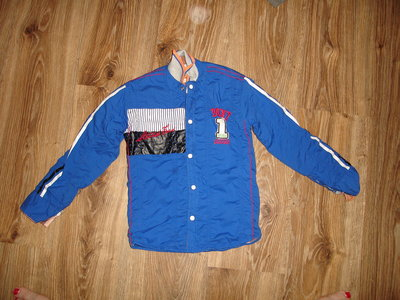 Двухстороння рубашка на кнопках на 5-6 лет
