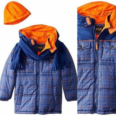 Куртка iXtreme США с шарфом и шапкой