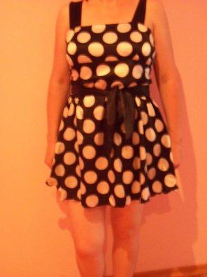 Платье-Сарафан в горошек