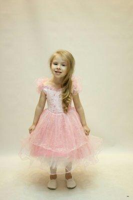 Нарядное детское пышное платье
