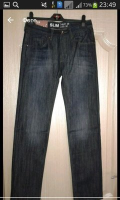 26cd231be50 Фирменные джинсы для подростка  250 грн - джинсы denim co в ...