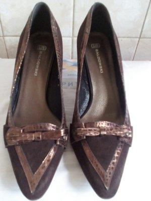 Туфли замшевые 40 р. дл. стельки 26 см