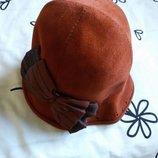 Элегантная шляпка из фетра.