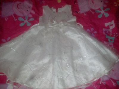 Нарядное платье на 4-6лет