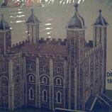 Пазл пазлы 3D 3Д Замок Машина Вертолёт Крепость Дворец пазли для детей для творчества игра игрушка