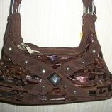 сумки женские коричневые