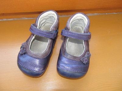Кожанные туфельки стелька 13см