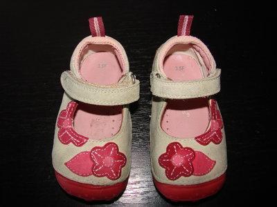 кожаные туфли-мокасины Hush Puppies 20 размер Англ 3.5 стелька 13 см состояние отличное
