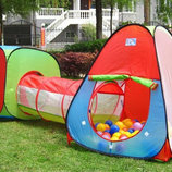 Детский игровой центр-2 палатка тоннель 3 в 1