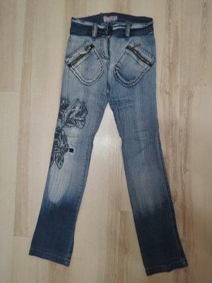 стильные джинсы Puledro на девочку 146-152рост
