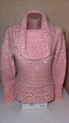 Шикарный свитер фирмы Lisheng , б/у
