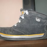 Замшевые ботинки Adidas, стелька 23.