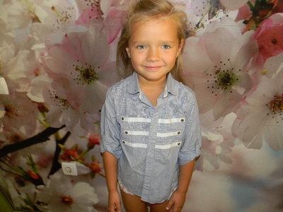 рубашка Next для мальчика 5-6 лет сост. новой
