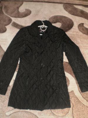 Куртка черная стеганная