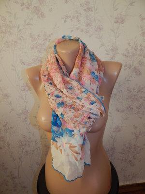 шарф шёлковый тонкий стильный модный