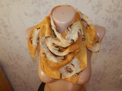 платок тонкий стильный модный