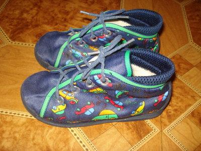 Тканевые ботиночки 25й,стелька 16см.
