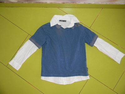 реглан-рубашка Mexx на мальчика 5-6 лет сост. новой