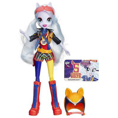 Шугаркоат Спортивный стиль мотокросс My Little Pony Equestria Girls Sugarcoat Sporty Style Motocross