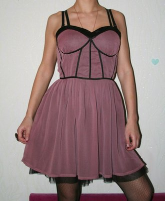 Красивое платье, с пышным подъюбником, размер С-М