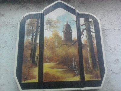 Картина с подписью автора 1999г