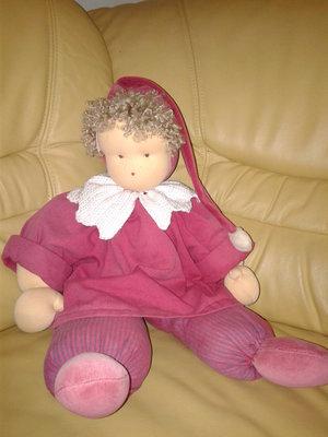 Кукла Большой Клоун 60 см винтажный Гдр редкий коллекционный