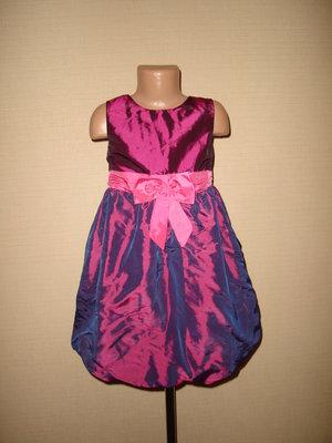 Нарядное платье на H&M на 7-8 лет
