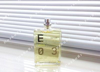 Escentric Molecules Escentric 03 распив аромата