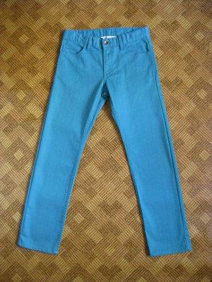 яркие джинсы, брюки, штаны H&M на девочку - возраст 11-12лет