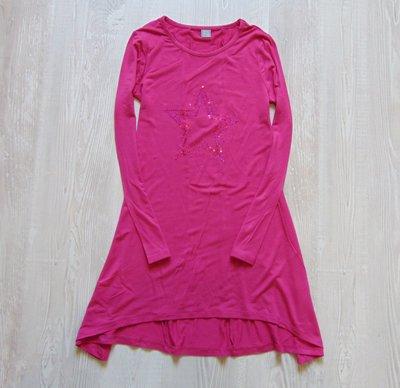Стильная туника-платье со звездой для девочки. TU. Размер 8 лет. Состояние новой вещи