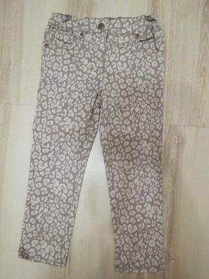 тигровые джинсы F&F на девочку 3-4года
