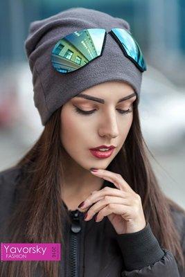 Оригинальная шапка с очками 168