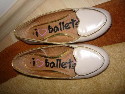 Туфли - балетки , 32 размер