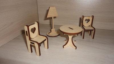 Игрушечная мебель - Гостиная маленькая