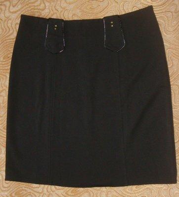 Черная юбка офис, университет, школа