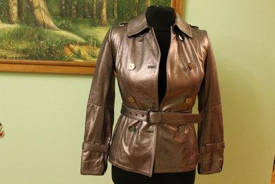 Італійська шкіряна куртка Carnelli
