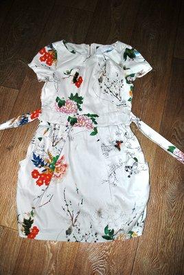 Платье APRICOT крутое модное брендовое стильное принт цветочный 44 M
