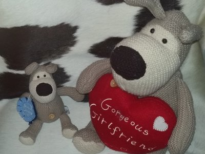 шикарные мягкие игрушки Собаки Буфи Boofle Англия оригинал