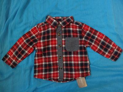 Новая рубашка на 0-3 мес для мальчика