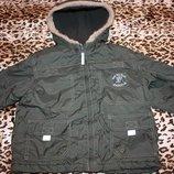 Куртка демисезонная на утеплении р 98 Impidimpi для мальчика отличное состояние