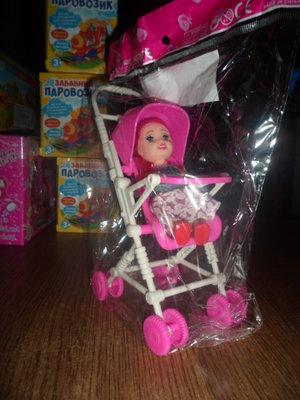 кукла с коляской укр 10 гр Бронь